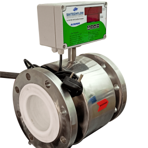 Electromagnetic Flowmeter With SS Body And Teflon Lining