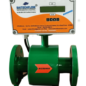 Flow Meter With LCD And LED Display